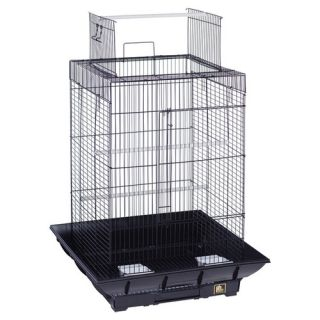 Prevue Hendryx Clean Life PlayTop Bird Cage SP851 Color Black