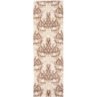 Safavieh Florida Shag Light Beige Rug SG457 1311 Rug Size Runner 23 x 7