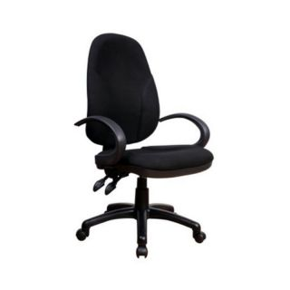 Chintaly Adjustable Fabric Back and Seat Office Chair Multicolor   4916 CCH