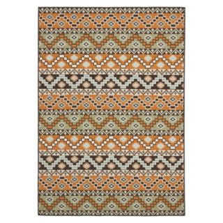Safavieh Kiawah Indoor/Outdoor Area Rug   Terracotta/Chocolate (8x112)