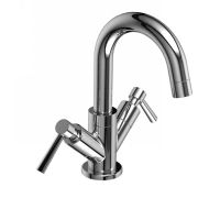 Riobel PA01L C Pallace Two Handle Single Hole Bathroom Faucet