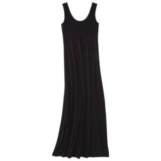 Merona Petites Sleeveless Maxi Dress   Black XLP