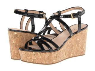 Kate Spade New York Tropez Womens Wedge Shoes (Black)