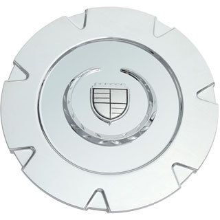 Oxgord Cadillac Escalade 07 Chrome Logo Center Cap (ABS plasticDimensions 7.75 inch diameter Quantity One (1) capHollander #1 5303)