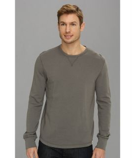 Lucky Brand Honeycomb Crew Mens Clothing (Gray)