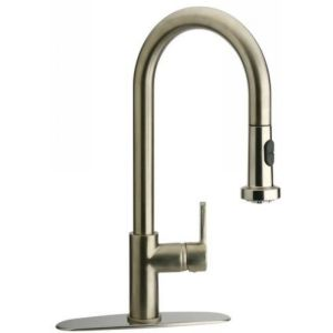 LaToscana 64PW591JO Kitchen Faucets Single Handle Kitchen Faucet With Pull down