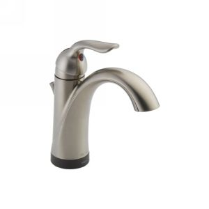 Delta Faucet 538T SS DST Lahara Single Handle Lavatory Faucet with Touch2O.xt  T