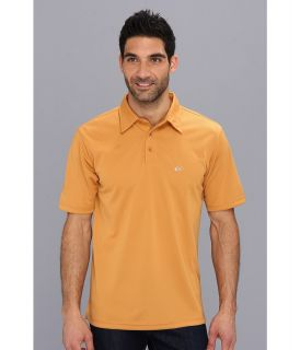Quiksilver Waterman Collection Water Polo 2 Knit Polo Mens Short Sleeve Pullover (Orange)
