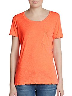 Marlee Short Sleeve Tee   Orange