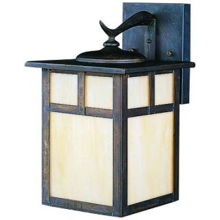 Kichler 9651CV Outdoor Light, Arts and Crafts/Mission Wall 1 Light Fixture Canyon View