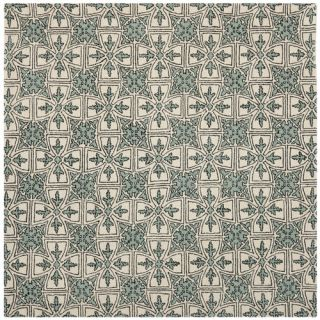 Safavieh Chatham Light Blue/Ivory Rug CHT716A Rug Size Square 7 x 7