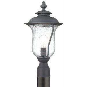 Thomas Lighting THO 190088030 Carlisle Lantern post Black 1x100W 120V