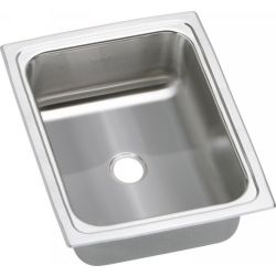 Elkay BPSFR1215 Gourmet ADA Compliant Top Mount Single Bowl Prep Sink