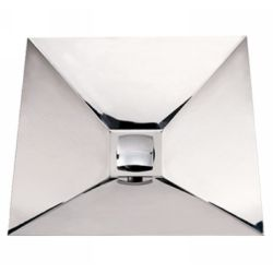 Whitehaus WHNCMB002 NOAH Stainless Steel Square Wall Mount Bath Sink