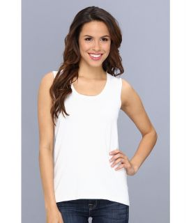 Jones New York Sleeveless Shell Womens Sleeveless (White)