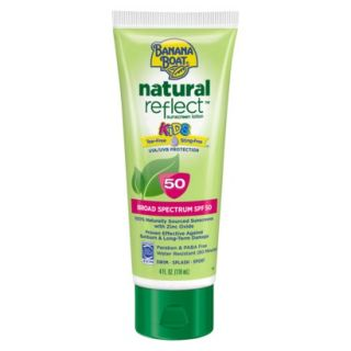 BANANA BOAT Kids Natural Reflect SPF50   4 oz