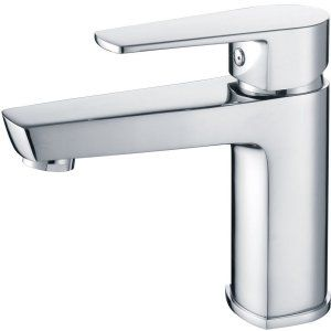 Ruvati RVF3105CH Voda Voda Single Hole Bathroom Faucet   Polished Chrome