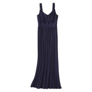 Merona Petites Sleeveless Maxi Dress   Navy XXLP