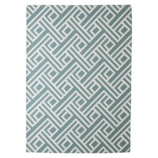 Threshold Indoor/Outdoor Area Rug   Blue (7x10)