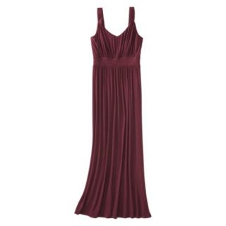 Merona Petites Sleeveless Maxi Dress   Berry SP