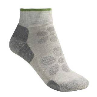SmartWool Outdoor Light Mini Sport Socks   Merino Wool (For Women)   STONE (M )
