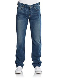 Standard Straight Leg Jeans   Tinted Authentic