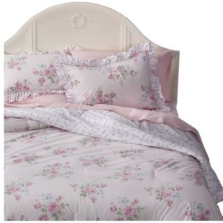 Simply Shabby Chic Misty Rose Comforter Set   Pink (Twin)