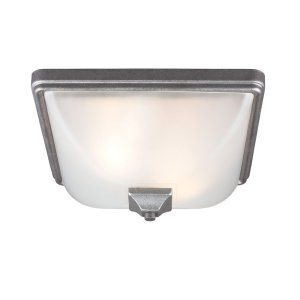 Sea Gull Lighting SEA 7828402 57 Irving Park Two Light Outdoor Ceiling Flush Mou