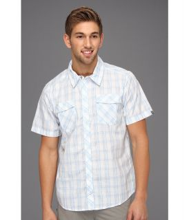 Mountain Hardwear Yohan S/S Shirt Mens Short Sleeve Button Up (White)