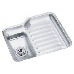 Elkay ELU2421L Harmony ADA Compliant Undermount Single Bowl Kitchen Sink with Wo