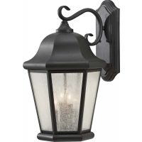 Feiss OL5904BK Martinsville 1 Light Outdoor Lantern