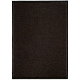 Recife Saddle Stitch Black Rug (2 X 37) (BlackSecondary colors Natural beigePattern StripeTip We recommend the use of a non skid pad to keep the rug in place on smooth surfaces.All rug sizes are approximate. Due to the difference of monitor colors, som