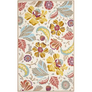 Safavieh Four Seasons Ivory / Grey Rug FRS475A Rug Size 5 x 8