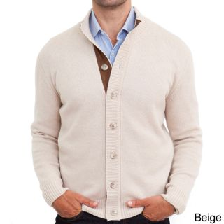 Luigi Baldo Italian Made Mens Cashmere Full Button Cardigan