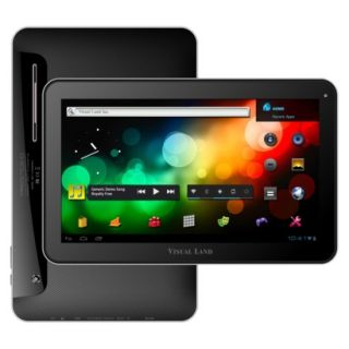 Visual Land Prestige 10 Android Tablet (ME 110 16GB BLK) with 16GB Internal