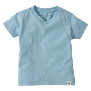 Burts Bees Baby Toddler Boys V Neck Tee   Misty Blue 3T