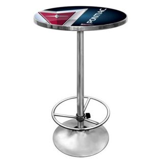 Trademark Pontiac Chrome Pub Table Multicolor   GM2000 PC