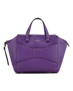 2 park avenue beau shopper tote bag, purple   kate spade new york
