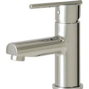 Aquabrass AB 96014 PC Spider Single Hole Lavatory Faucet