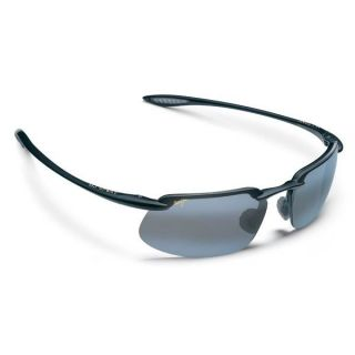 Maui Jim Kanaha Sunglasses Gloss Black Neutral Grey
