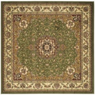 Lyndhurst Collection Sage/ Ivory Rug (6 Square)