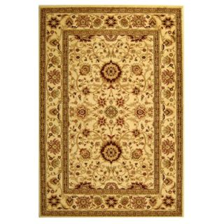 Lyndhurst Collection Majestic Ivory/ Ivory Rug (9 X 12)