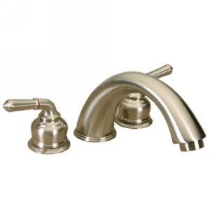 Dynasty Hardware DYN S 83635 SN Deco Two Handle Roman Tub Faucet