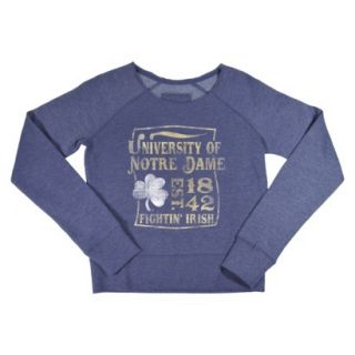 NCAA Kids Notre Dame Fleece   Grey (M)