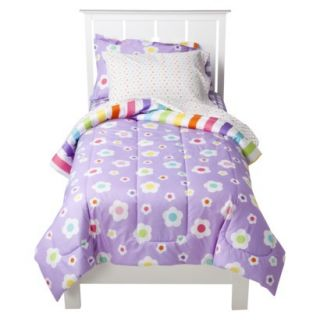 Circo Girl Mix & Match Bedding Set   Purple (Twin)