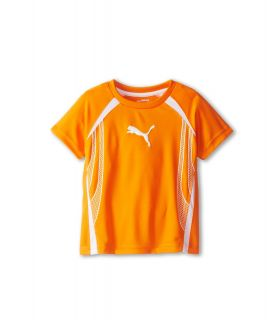 Puma Kids Formstripe Tee Boys Short Sleeve Pullover (Orange)