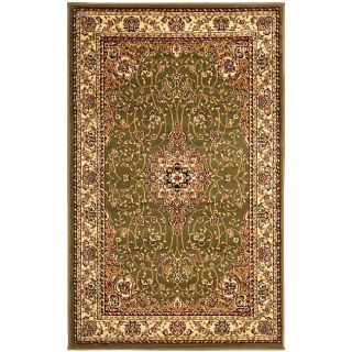 Lyndhurst Collection Sage/ Ivory Rug (4 X 6)