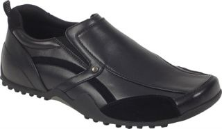 Mens Deer Stags Animal   Black Work Shoes