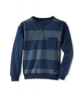 Quiksilver Kids Custer Fleece Boys Sweatshirt (Navy)