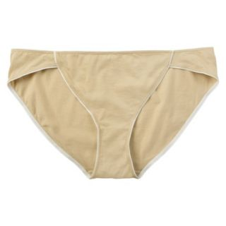JKY By Jockey Womens Cotton Stretch Bikini   Toasted Beige 5